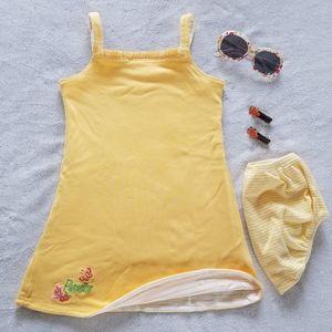 Gymboree Reversible Dress w/Sunglasses & Hairclips